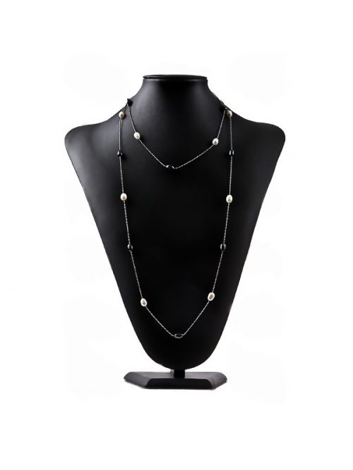 48_Inch_Black_and_White_Tin_Cup_Pearl_Necklace_Display_1.600