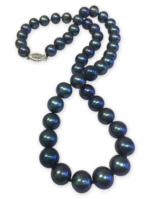 BUA BAY COLLECTION  BLACK PEARL NECKLACE