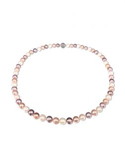 PACIFIC PEARLS BUA BAY COLLECTION Pastel 7-8mm Pearl Necklace