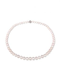 PACIFIC PEARLS BUA BAY COLLECTION White 7-8mm Pearl Necklace