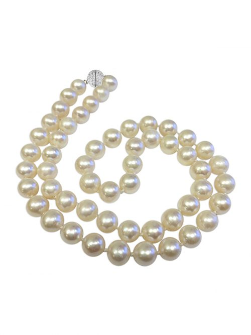 PACIFIC PEARLS BAY COLLECTION White 7-8mm Pearl Necklace