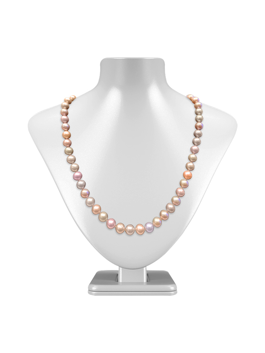 Maria Theresa Reef Collection Pastel 9 10mm Pearl Necklace