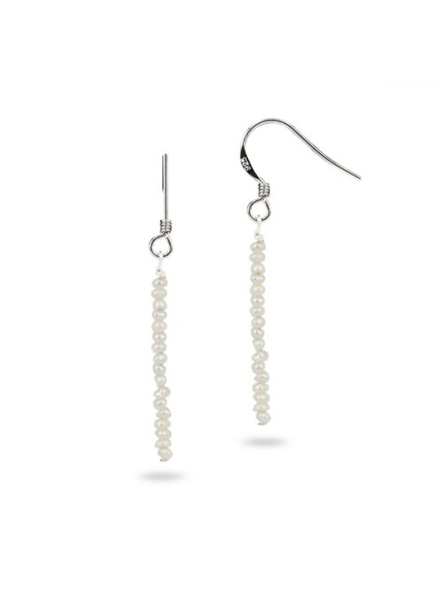 PACIFIC PEARLS TERAINA COVE COLLECTION 1-2mm Pearl Necklace and Earrings