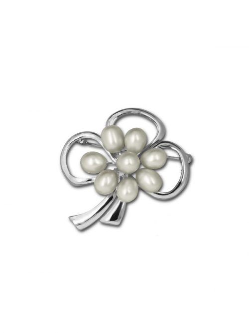 PACIFIC PEARLS TERAINA COVE COLLECTION White Pearl Brooch