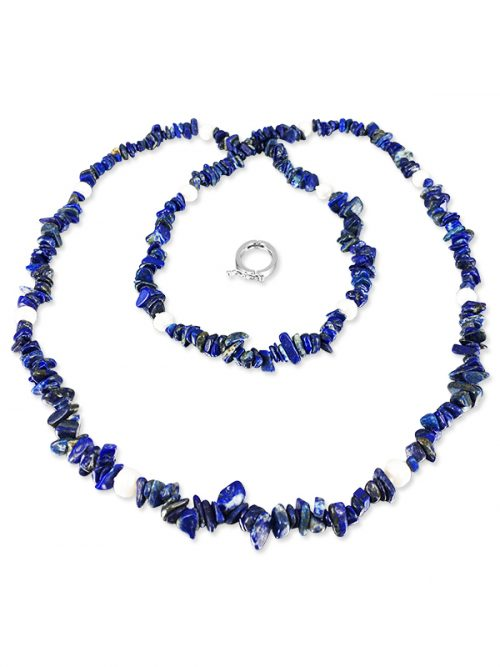 PACIFIC PEARLS TREASURE ISLAND COLLECTION Lapis Lazuli and Pearl 5-in-1 Lariat