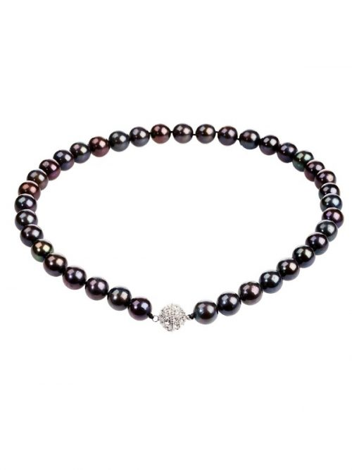 10.5_-_11.5mm_18_Inch_Tahititan_Black_Baby_South_Sea_Pearl_Necklace_on_Perspex.600