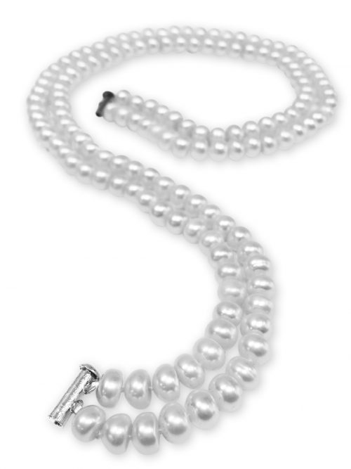 TARA ISLAND COLLECTION DOUBLE STRAND PEARL NECKLACE