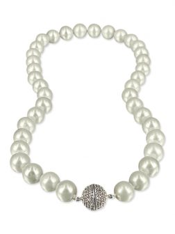 PACIFIC PEARLS VANUATU COLLECTION Chantilly Lace 11-12mm Pearl Necklace