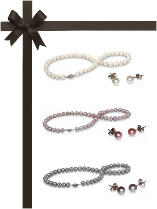BUA BAY COLLECTION Six-Piece Necklace and Earring Gift Set