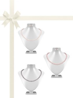 PACIFIC PEARLS BUA BAY COLLECTION Six-Piece Pearl Necklace & Earring Gift Set