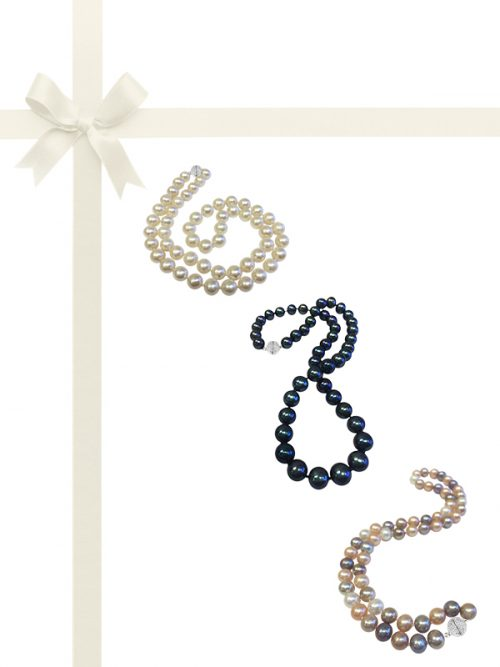 PACIFIC PEARLS BUA-BAY-COLLECTION-Three-Piece-Pearl-Necklace-Gift-Set