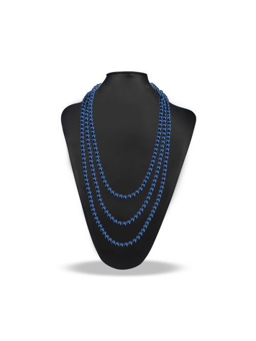 PACIFIC PEARLS SOCIETY ISLANDS COLLECTION Ice Blue 90 Inch Pearl Necklace