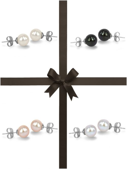 MARIA-THERESA REEF COLLECTION Four-Piece Stud Earring Gift Set