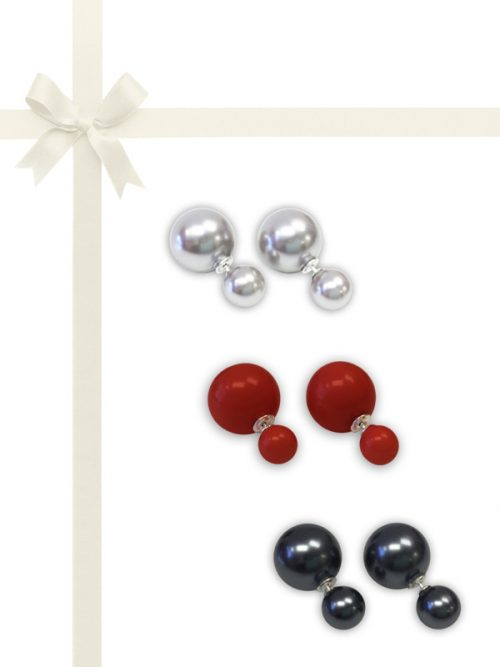 OYSTER BAY COLLECTION MOTHER-OF-PEARL EARRING 3 PC GIFT SET