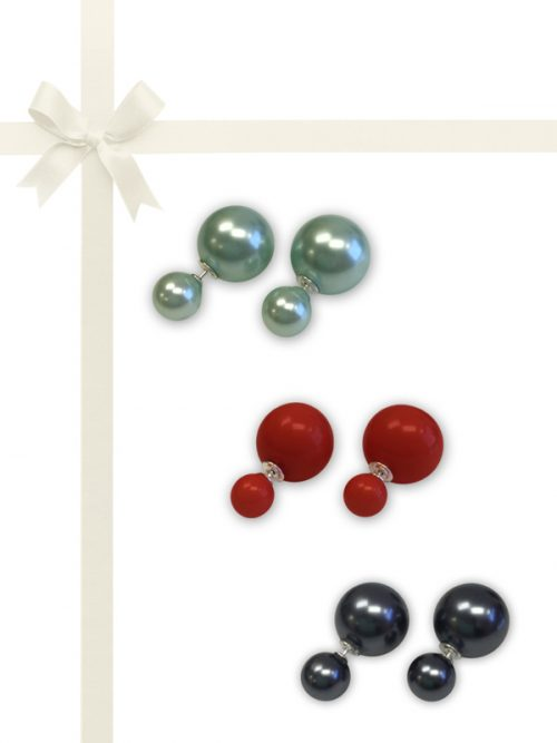 PACIFIC PEARLS OYSTER BAY COLLECTION Mother-of-Pearl Earring Gift Set