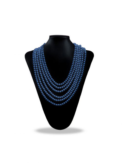 PACIFIC PEARLS SOCIETY ISLANDS COLLECTION Ice Blue 180 Inch Pearl Necklace