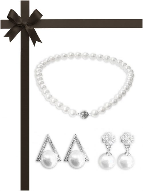 VANUATU COLLECTION Three-Piece Necklace and Earring Gift Set