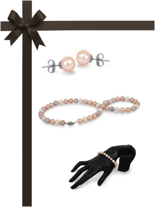MARIA-THERESA REEF COLLECTION Pastel Pearl Three-Piece Gift Set
