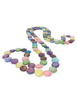 OYSTER BAY COLLECTION Kaleidoscopic Double Strand Mother-of-Pearl Necklace