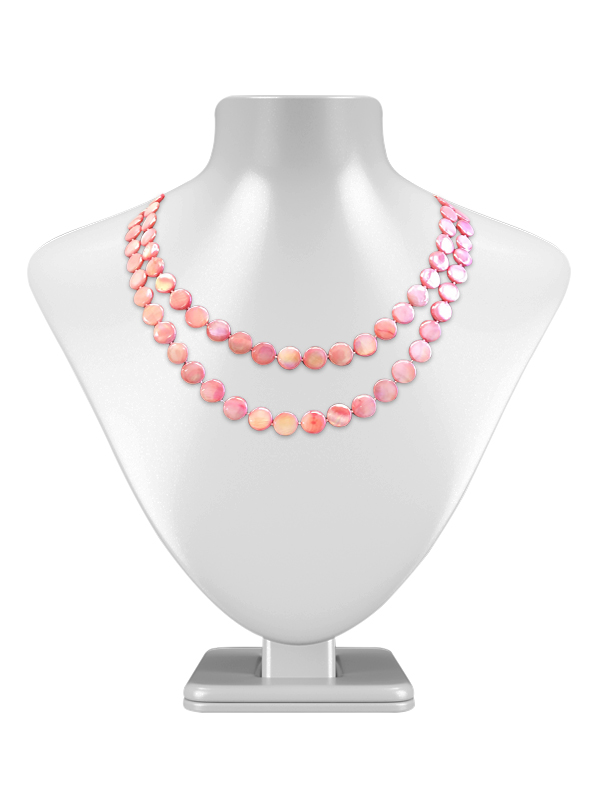 Oyster Bay Collection Rose Double Strand Mother Of Pearl