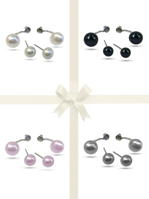 PACIFIC PEARLS PALLISER LAGOON COLLECTION Pearl Earring Gift Set