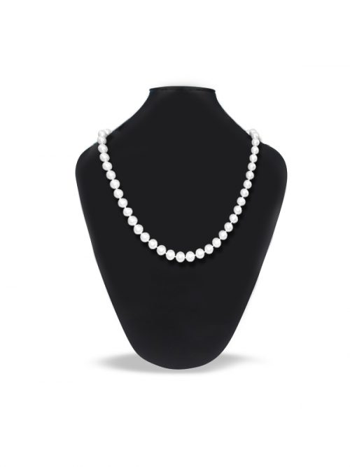 PACIFIC PEARLS ROYAL FALLS COLLECTION 21-23 Inch Matinee Length Pearl Necklace Gift Set