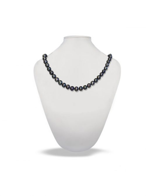 PACIFIC PEARLS ROYAL FALLS COLLECTION Indigo 21-23 Inch Matinee Length Pearl Necklace