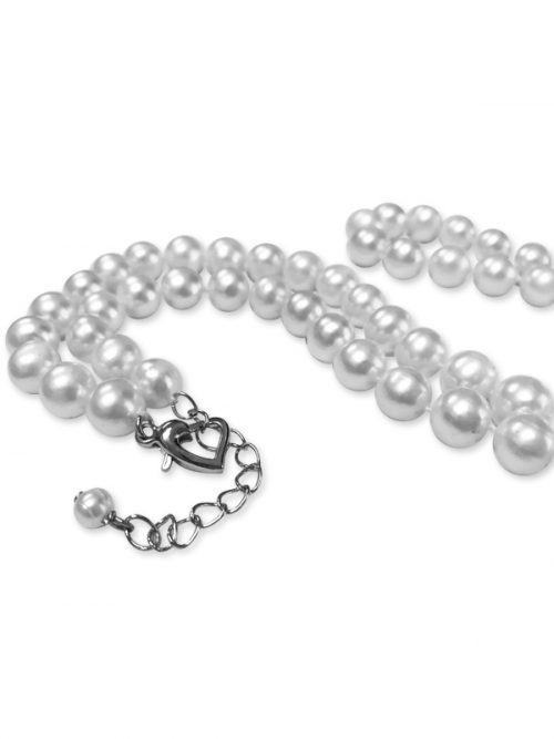 PACIFIC PEARLS ROYAL FALLS COLLECTION Ivory 21-23 Inch Matinee Length Pearl Necklace