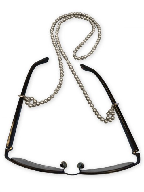 TERAINA COVE COLLECTION GRAY PEARL EYEWEAR NECKLACE