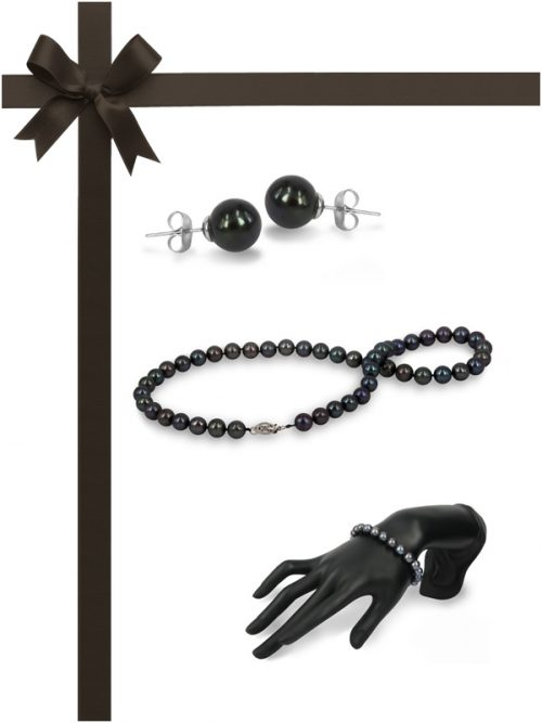 MARIA-THERESA REEF COLLECTION Black Pearl Three-Piece Gift Set
