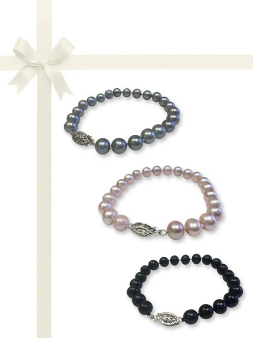 PACIFIC PEARLS BUA BAY COLLECTION Pearl Bracelet Gift Set
