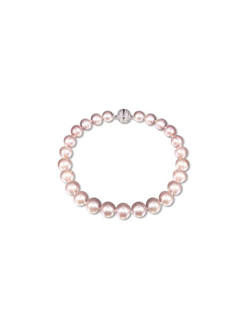 PACIFIC PEARLS BUA BAY COLLECTION Pink 7-8mm Pearl Bracelet