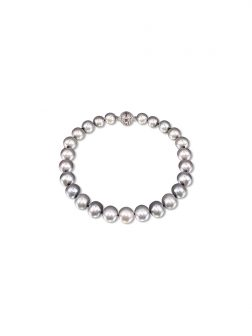 PACIFIC PEARLS BUA BAY COLLECTION Silver-Gray 7-8mm Pearl Bracelet