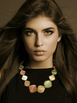PACIFIC PEARLS OYSTER-BAY-COLLECTION-Caramel-Mint-and-Dusty-Rose-Square-Mother-of-Pearl-Necklace