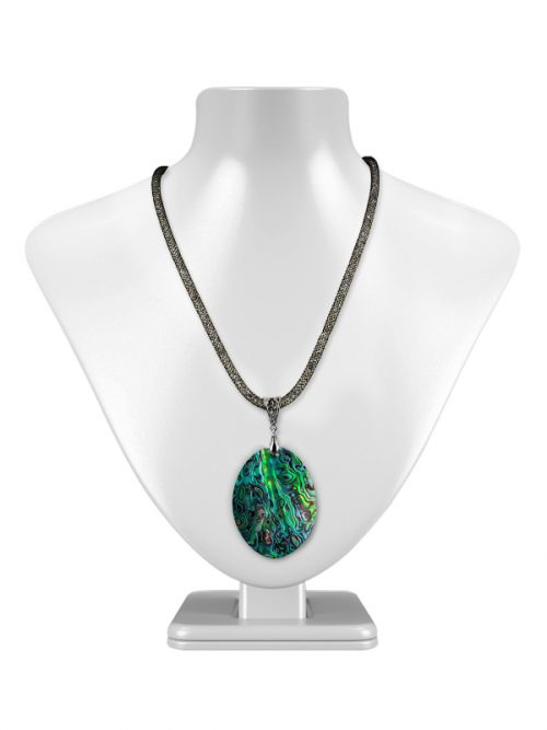 50MM ABALONE ALOHA COLLECTION STATEMENT NECKLACE