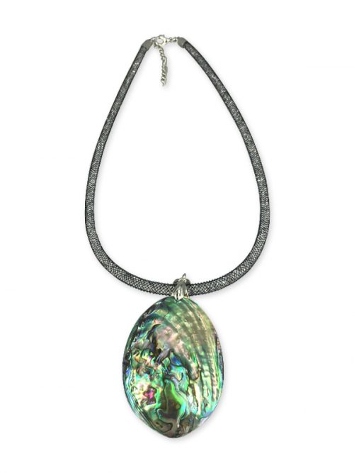 ALOHA COLLECTION ABALONE 50MM STATEMENT NECKLACE