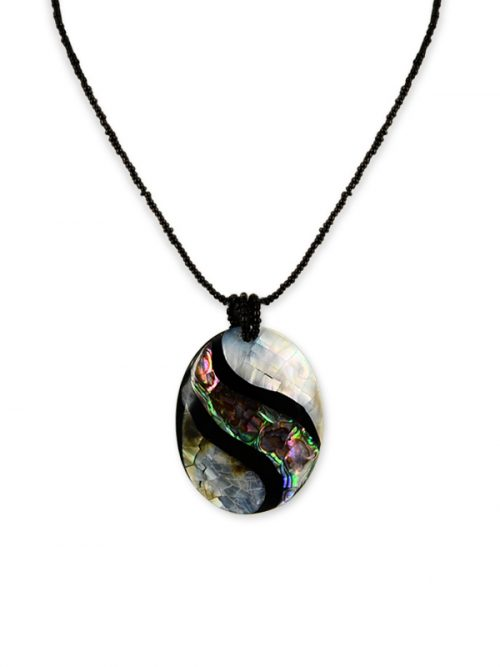 ALOHA COLLECTION Abalone and Mother-of-Pearl Pendant