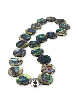 PACIFIC PEARLS NEW ZEALAND ABALONE COLLECTION Tia Abalone Statement Necklace