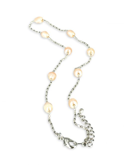PACIFIC PEARLS TERAINA COVE COLLECTION Pink 6-7mm Pearl Necklace