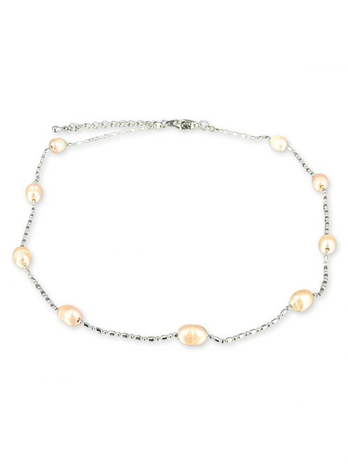 TERAINA COVE COLLECTION Pink 6-7mm Pearl Necklace