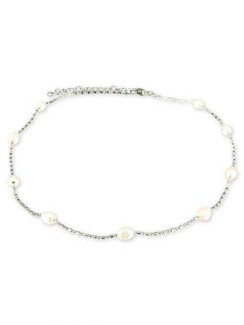 TERAINA COVE COLLECTION White 6-7mm Pearl Necklace