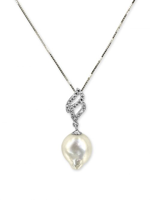 SOUTH SEA COLLECTION CANDLELIGHT 10-11MM SOUTH SEA BAROQUE PEARL PENDANT