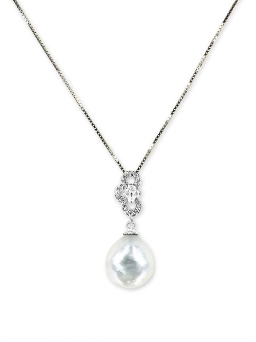 PACIFIC PEARLS SOUTH SEA COLLECTION Highland Fling South Sea Baroque Pearl Pendant