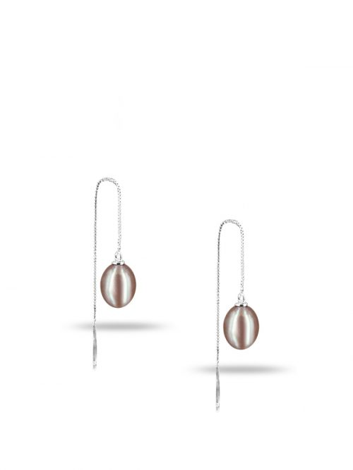 PACIFIC PEARLS NEW CALEDONIA COLLECTION Ananya Versatile Pink Pearl Earrings