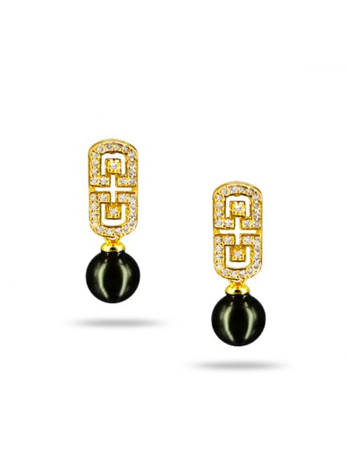 PACIFIC PEARLS AKOYA COLLECTION Sweet Leinani Akoya Pearl Earrings