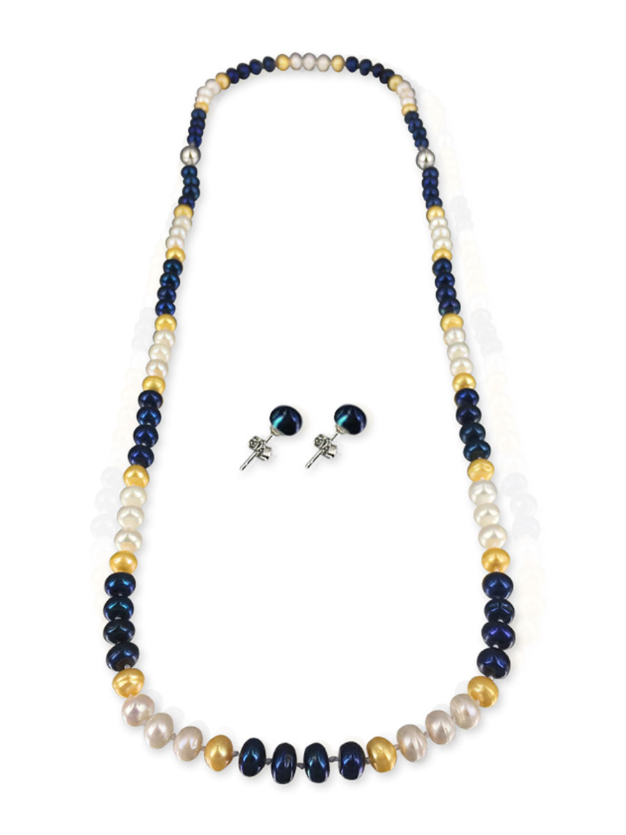 Palliser Lagoon Collection U S Navy Pearl Necklace Bracelet