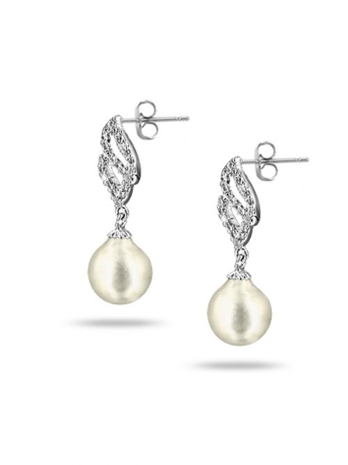 PACIFIC PEARLS SOUTH SEA COLLECTION Candlelight South Sea Baroque Pearl Earring