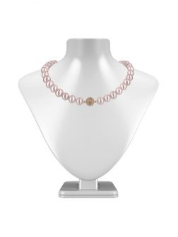 PACIFIC PEARLS VANUATU COLLECTION Blush 11mm-12mm Pearl Necklace