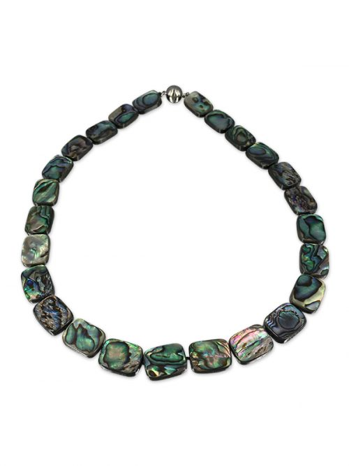 PACIFIC PEARLS NEW ZEALAND ABALONE COLLECTION Aaria Abalone Statement Necklace