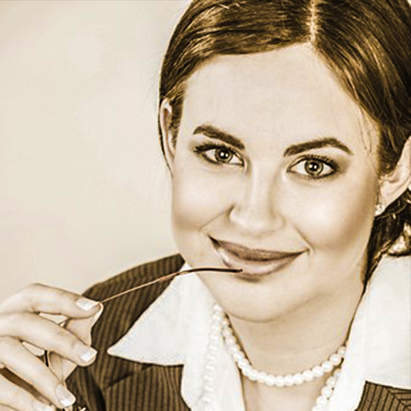 Businesswoman-in-Pearls